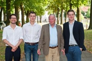 Dennis Hohloch, Jean-Pascal Hohm, Dr. Alexander Gauland, Martin Kohler