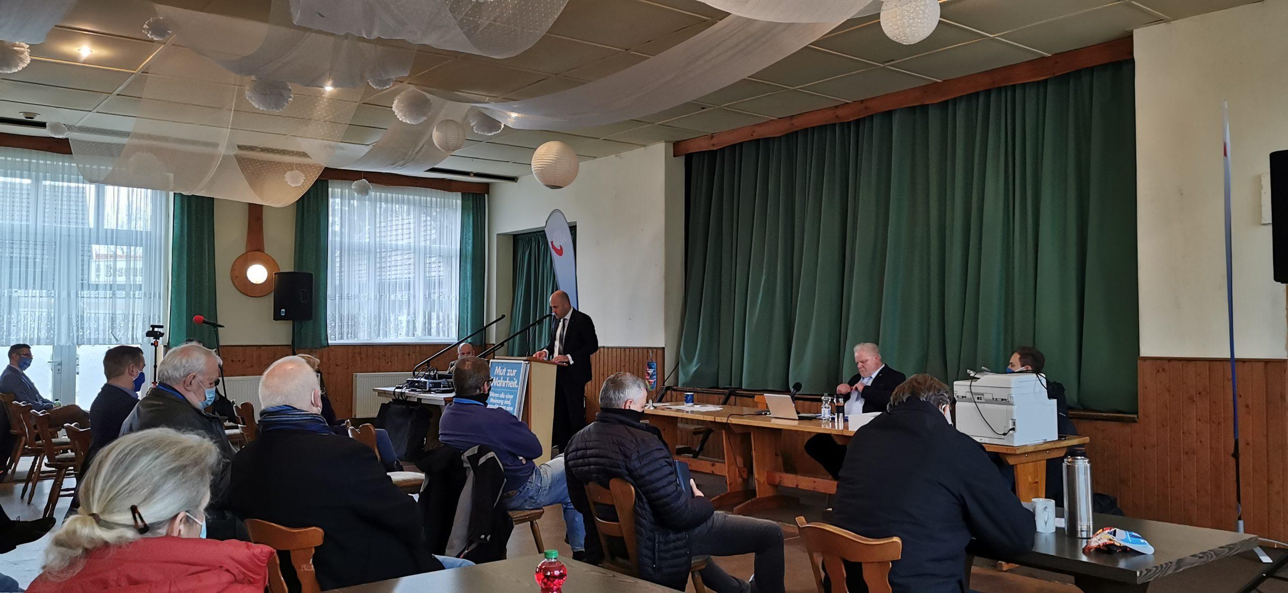 Aufstellungsversammlung des Wahlkreises 64