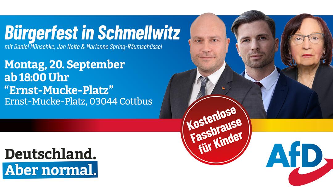 Bürgerfest in Schmellwitz